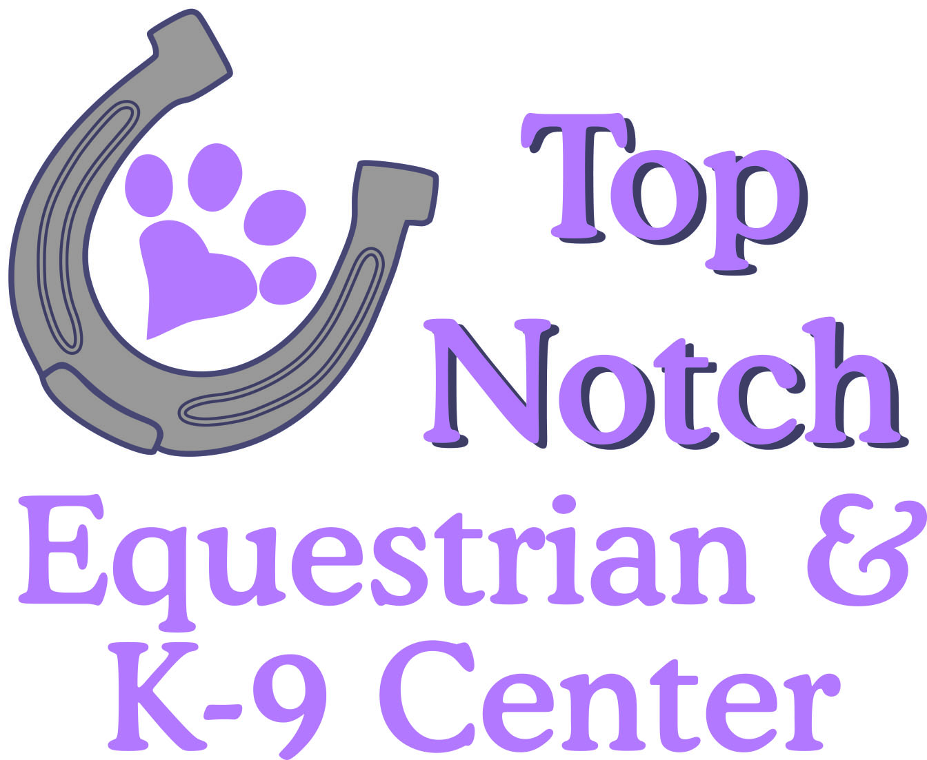 Top Notch Equestrian & K-9 Center full logo